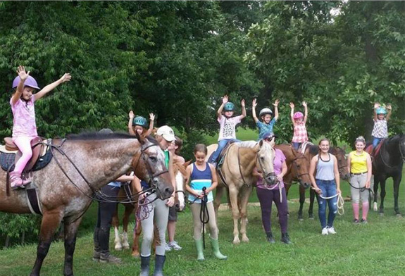 It's time to sign up for Summer Camp at Valley Ridge Farm!